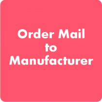 Order Mail to Manufacturer Magento Extension